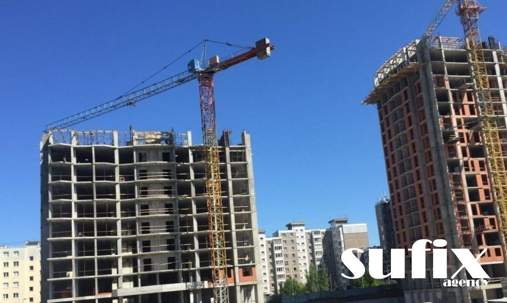 Разработка сайта услуг в сфере строительства и недвижимости